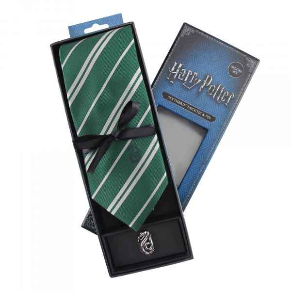 Harry Potter Slytherin Hauswappen Krawatte