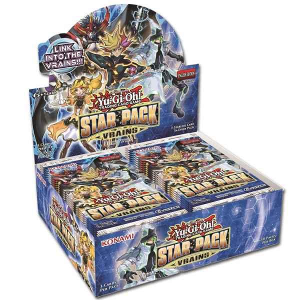 Yu-Gi-Oh! Star Pack Vrains Booster-Display